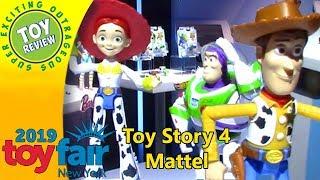 Toy Story 4 - Mattel - New York Toy Fair 2019