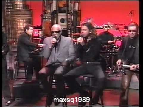 Inxs - INXS & Ray Charles   Please D  Letterman Oct 1993