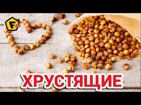 Нут по узбекски. Жареный, соленый