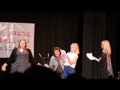 TI Exclusive: Young Storyteller's Glee Big Show with Dianna Agron, Becca Tobin and Ashley Fink