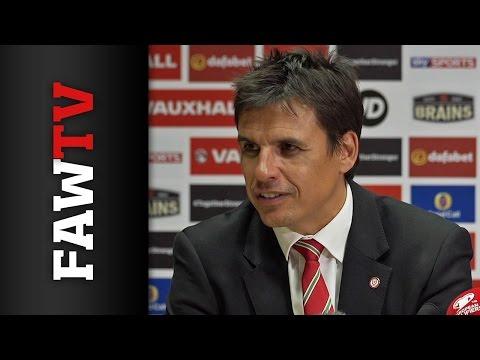 Wales v Israel Post Match Press Conference: Chris Coleman