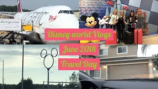 DISNEY WORLD VLOGS JUNE 2018| TRAVEL DAY/THE VILLA/SORTING DISNEY TICKETS