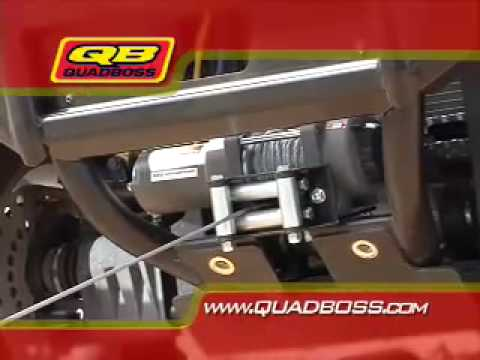 ATV Television Test - 2007 Yamaha Grizzly 450 Video