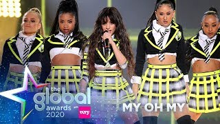 Download lagu Camila Cabello - 'My Oh My' (Live at The Global Awards 2020) | Capital