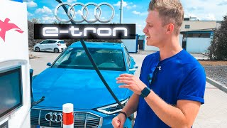 AUDI E TRON 450KM HÄRTETEST! *Roadtrip*