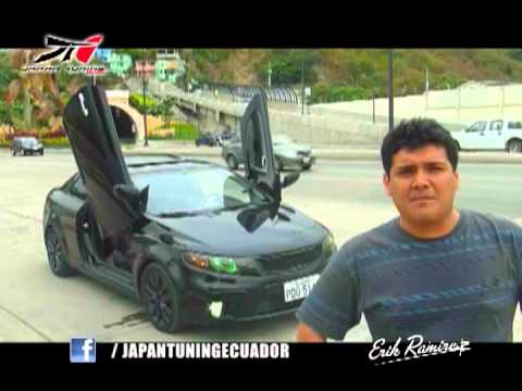 KIA KOUP 2011 Modified Lambo Doors ECUADOR