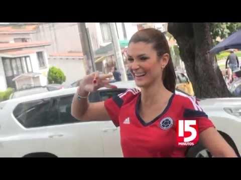 Ellas son las bellas famosas colombianas que viajaron al Mundial
