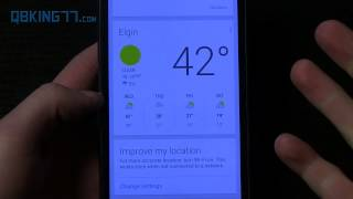 Google Now Widget Review