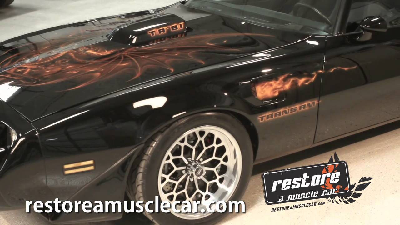 Pro Touring Trans Am >> Overseas Trans Ams - Restore a Muscle Car & Mike Lavallee - YouTube