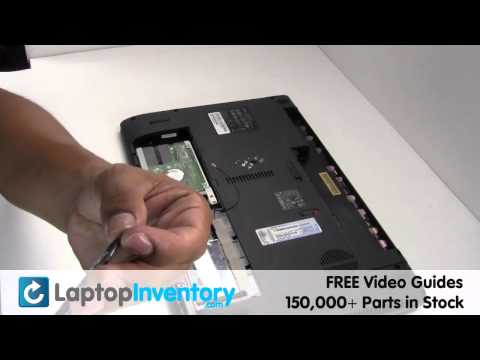 Acer Aspire 5536 7736 WIFI Replacement Guide Installation Upgrade -Wireless Card