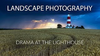 Landscape Photography | Drama at the Lighthouse