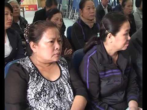 Đ/c Vũ Thanh Tú TUV, Bí thư QU, đại biểu HĐND thành phố tiếp xúc cử tri nơi cư trú