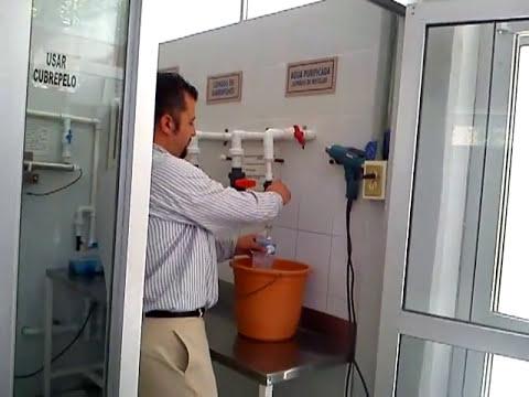 Proceso de purificacion del agua
