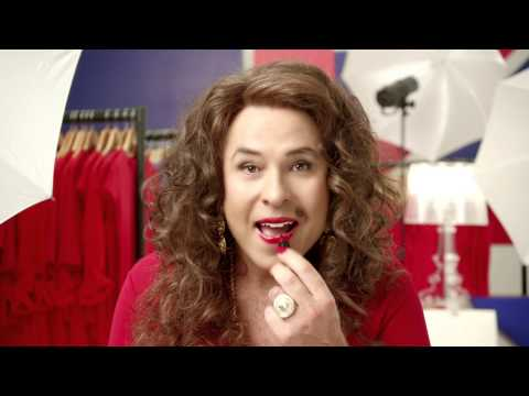 Rimmel London for Red Nose Day  | Kate Moss & David Walliams Get The Red Nose Look