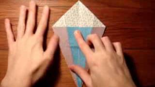 Berri-blu Origami Swan Instructions
