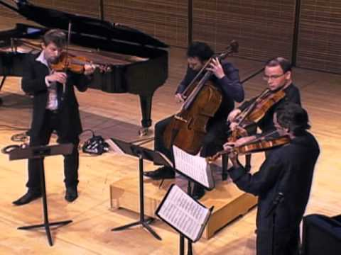 YTSO 2011 Launch: Brooklyn Rider - Debussy String Quartet, Second Movement