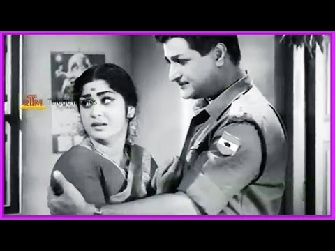 Ramu Telugu Movie Scene  -ntr & Pushpalatha ,jamuna video