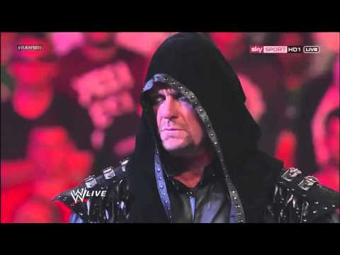 The Undertaker Returns on WWE Raw 1000 And Helps Kane