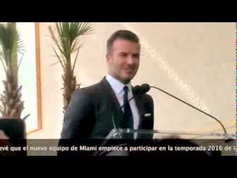 David Beckham rules out Alex Ferguson and talks about Messi in his Miami MLS team soccer