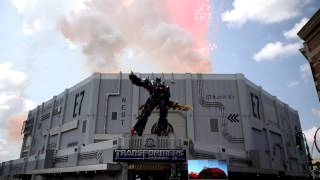 Transformers The Ride 3D Full Grand Opening at Universal Orlando