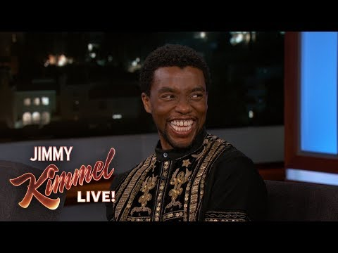 Chadwick Boseman on Black Panther