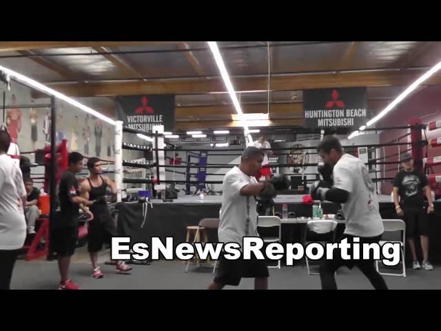 robert garcia working with ukranian boxing star alex gvozdyk EsNews