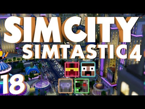 Simcity Simtastic4 - 18 Mayor Meeting And City Rebuild