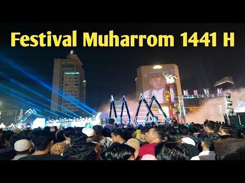MENGHADIRI FESTIVAL MUHARROM DI BUNDARAN HI || Original Video