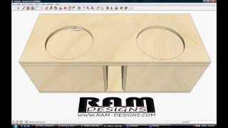 ram designs dc sounds level 4 dual 12 trailblazer box design