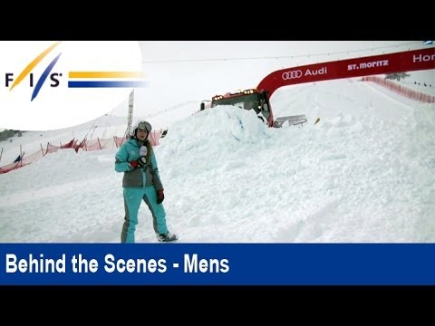 St. Moritz's Downhill with 50cm of Fresh Powder - Behind the Scenes