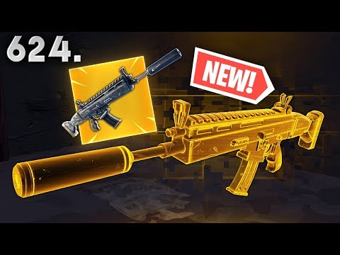 *NEW* SUPPRESSED SCAR BEST PLAYS..!!! Fortnite Funny WTF Fails and Daily Best Moments Ep.624