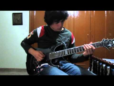 Attila - About that Life all guitar solos cover