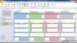 Excel modeling Outlook calendar Powerpoint