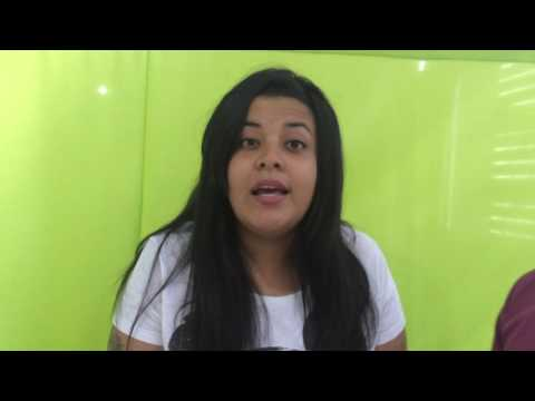 Paloma Santos imita Dilma e Marina Silva - Rádio 98 fm