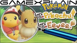 Pokémon Let's Go Pikachu & Eevee ANALYSIS - Reveal Trailer (Secrets & Hidden Details)