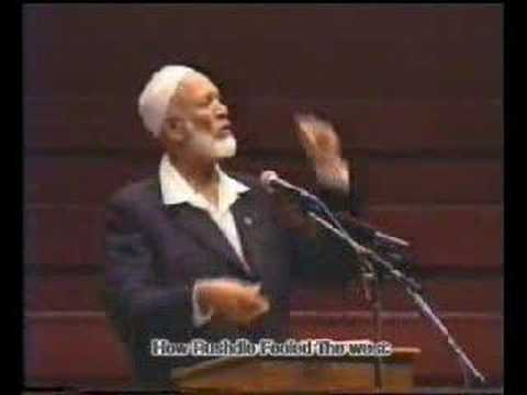 Sheikh Ahmed Deedat-How Rushdie Fooled the West?(6/14)