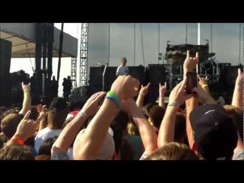 James Hetfield Introducing VOLBEAT at ORION MUSIC FESTIVAL!!!