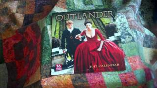 Preview of the 2017 Outlander Calendars