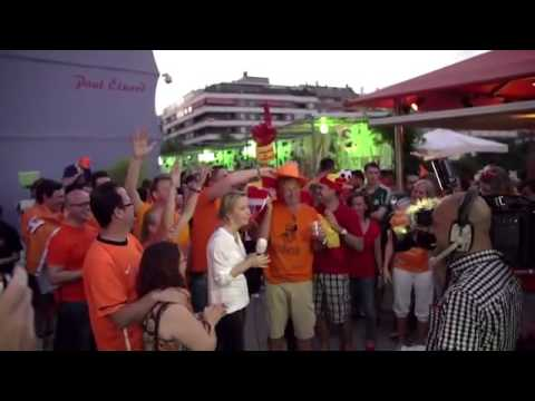 Spanje   Nederland in het Holland House Madrid   WK 2014 Brazilië nederland spanje