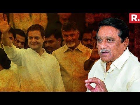 'I Will Hang Myself If TDP Aligns With Congress,' Says Andhra Pradesh  Dy CM KE Krishnamurthy