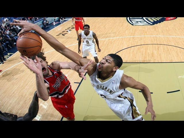 Anthony Davis is a Defensive Force!