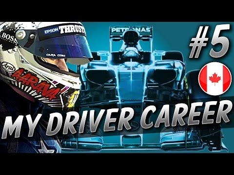 3 WIDE DOWN THE STRAIGHT - F1 MyDriver CAREER S2 PART 5: CANADA