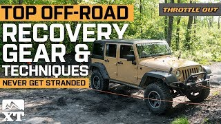 The Jeep Off Roading Recovery Gear and Techniques You Need To Know Throttle Out