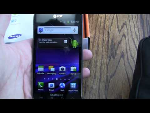 Samsung Galaxy S II Skyrocket Unboxing