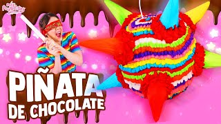 PIÑATA QUE SE COME | DE CHOCOLATE | MIS PASTELITOS
