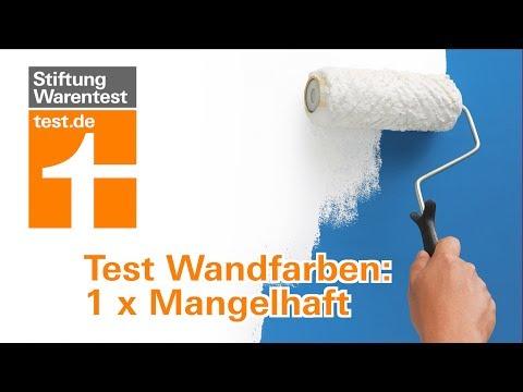 Wandfarbe test max