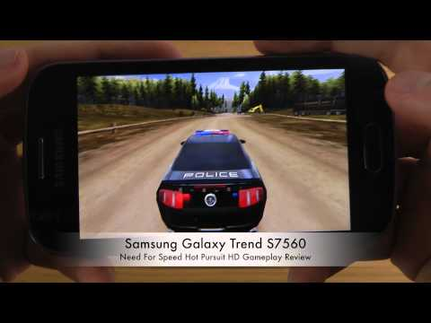 Need For Speed Hot Pursuit Samsung Galaxy Trend S7560 HD Gameplay Review