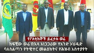 Ethiopia: DW Special News January 3, 2017   TPLF   OPDO   ANDM   SNNPR