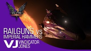 Elite Dangerous Railguns vs Imperial Hammers