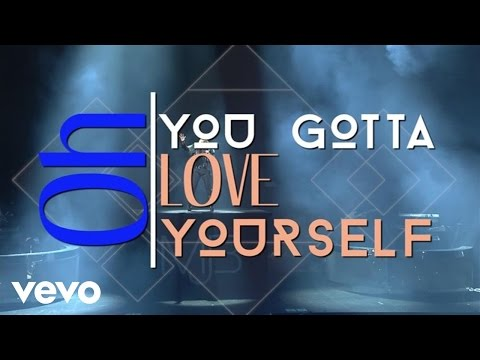 Mary J. Blige - Love Yourself (Lyric Video) ft. Kanye West